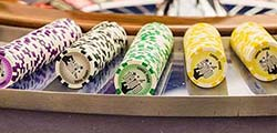 Casino bank chips